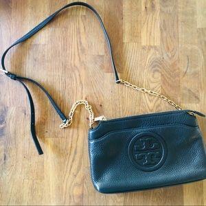 Tory Burch Crossbody Bag Black and Gold